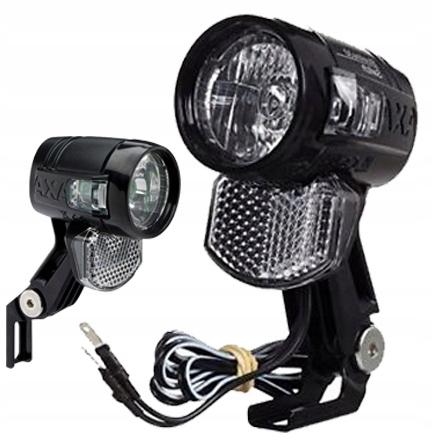 Lampka Lampa Przód Prądnicadynamo Axa Blueline 30