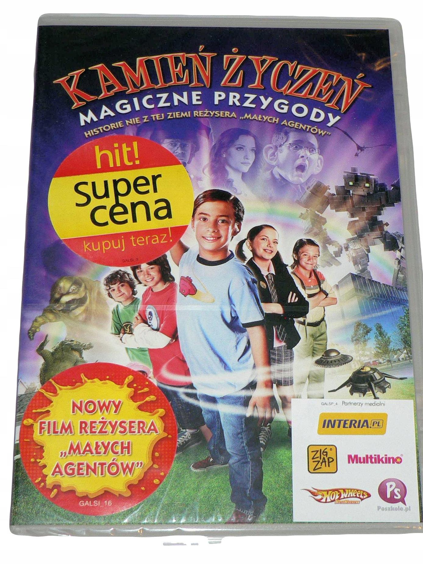 8fd58a3fd23f0e DVD - KAMIEŃ ŻYCZEŃ - MAGICZNE PRZYGODY - folia - 7684696001 ...
