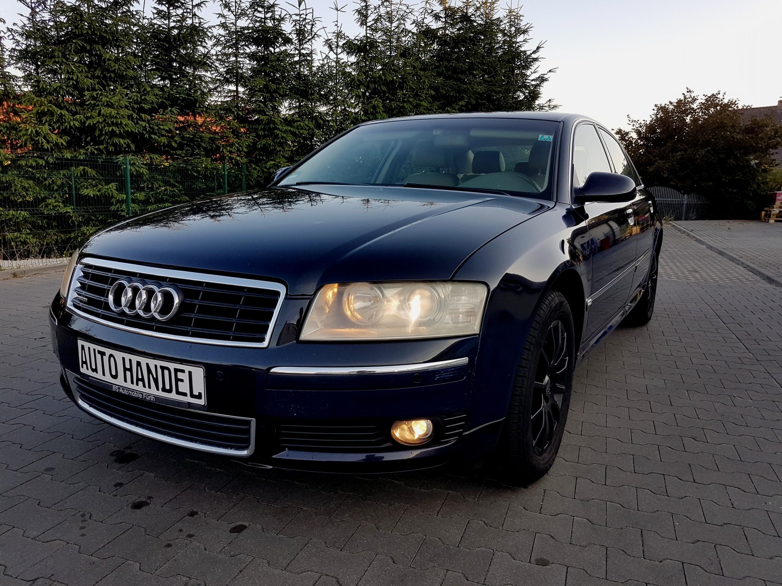 Audi A8 37 280 Ps Quattro Jasny środek Full Full 7442835535