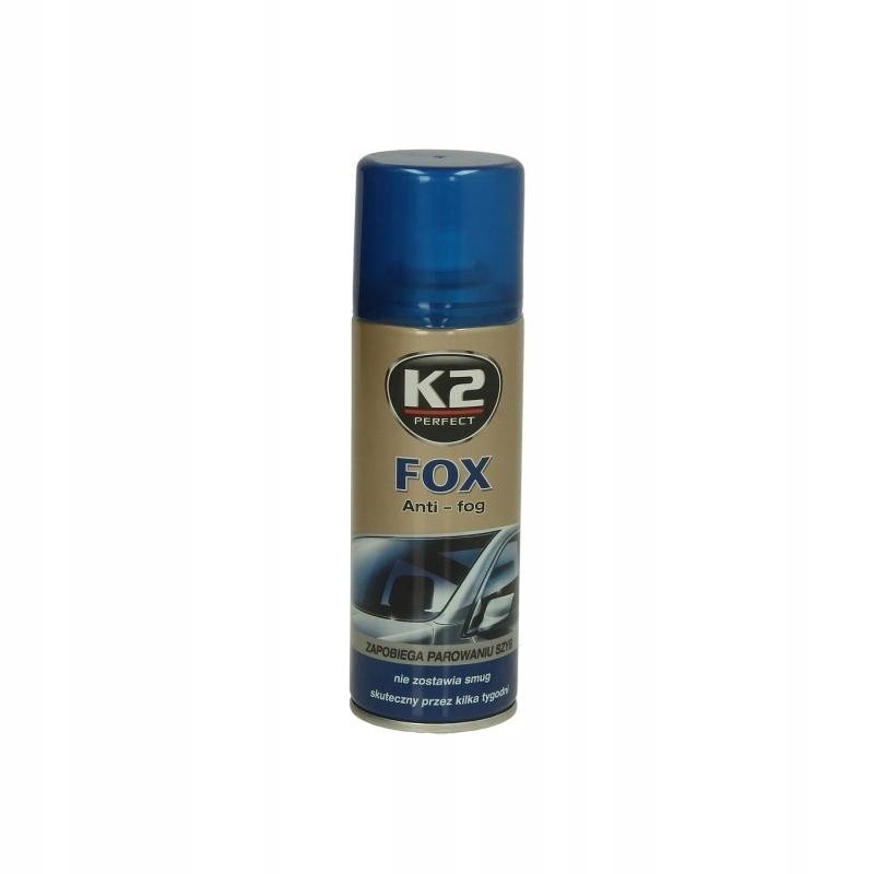 K2 FOX K2 K632 ŚRODEK DO SZYB I LUSTEREK, 0,4L