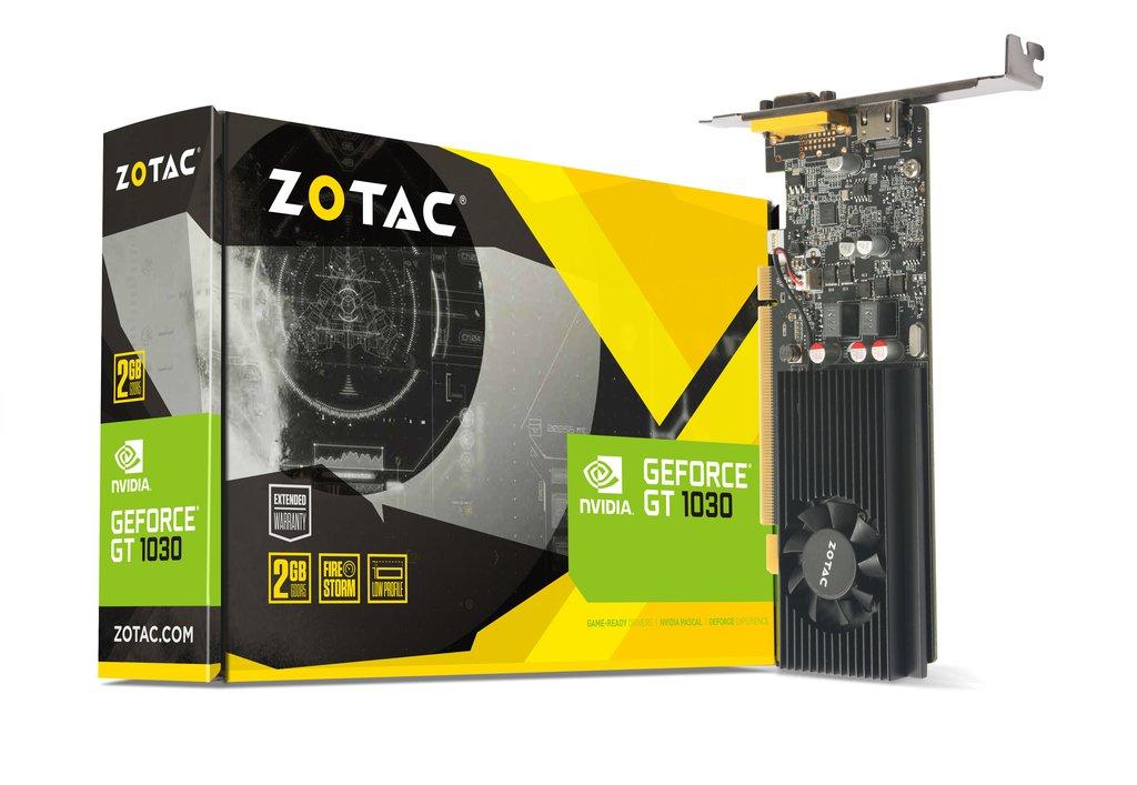 ZOTAC GeForce GT 1030 2GB GDDR5 LP