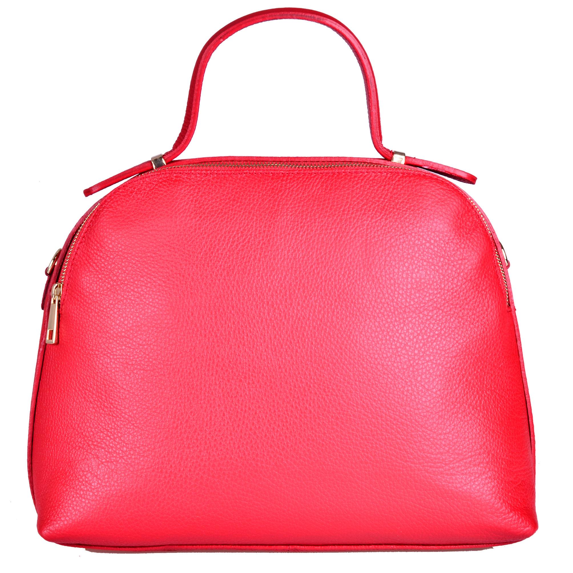54eb892398e29 Elegancki czerwony kuferek skórzany włoski - 6947287540 - oficjalne ...