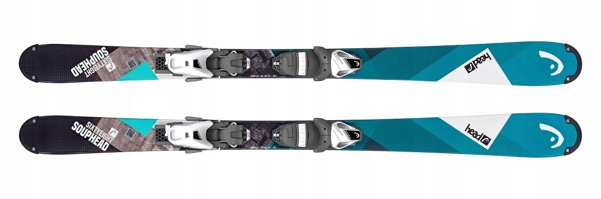 Narty zjazdowe Head Souphead SLR II 117 SLR 4.5 AC