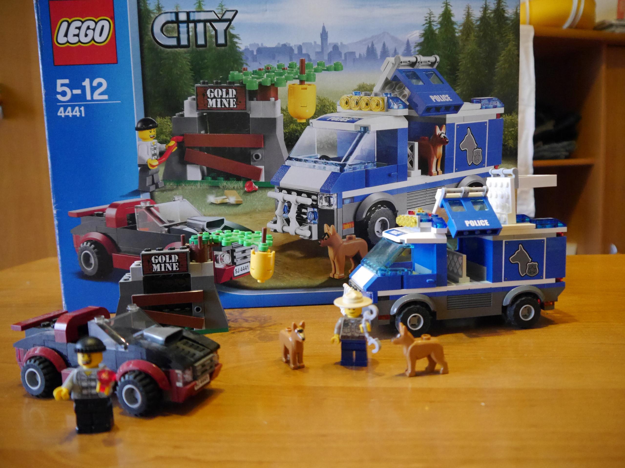 Lego City 4441 Policja Leśna I Złodzieje 7720530434 Oficjalne