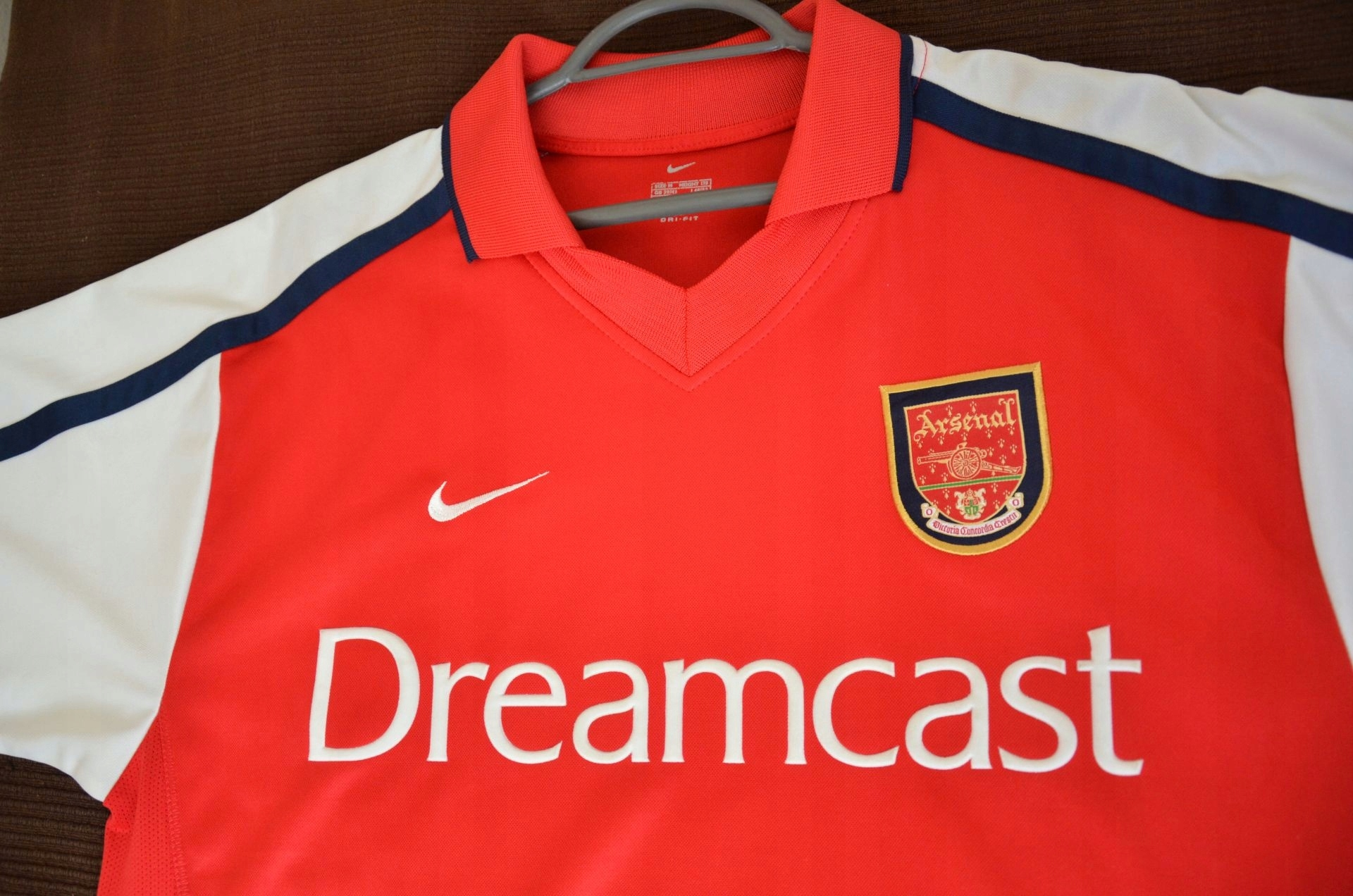 c1af0e938 Koszulka Arsenal London Dreamcast Nike M Unikat - 7606382724 ...