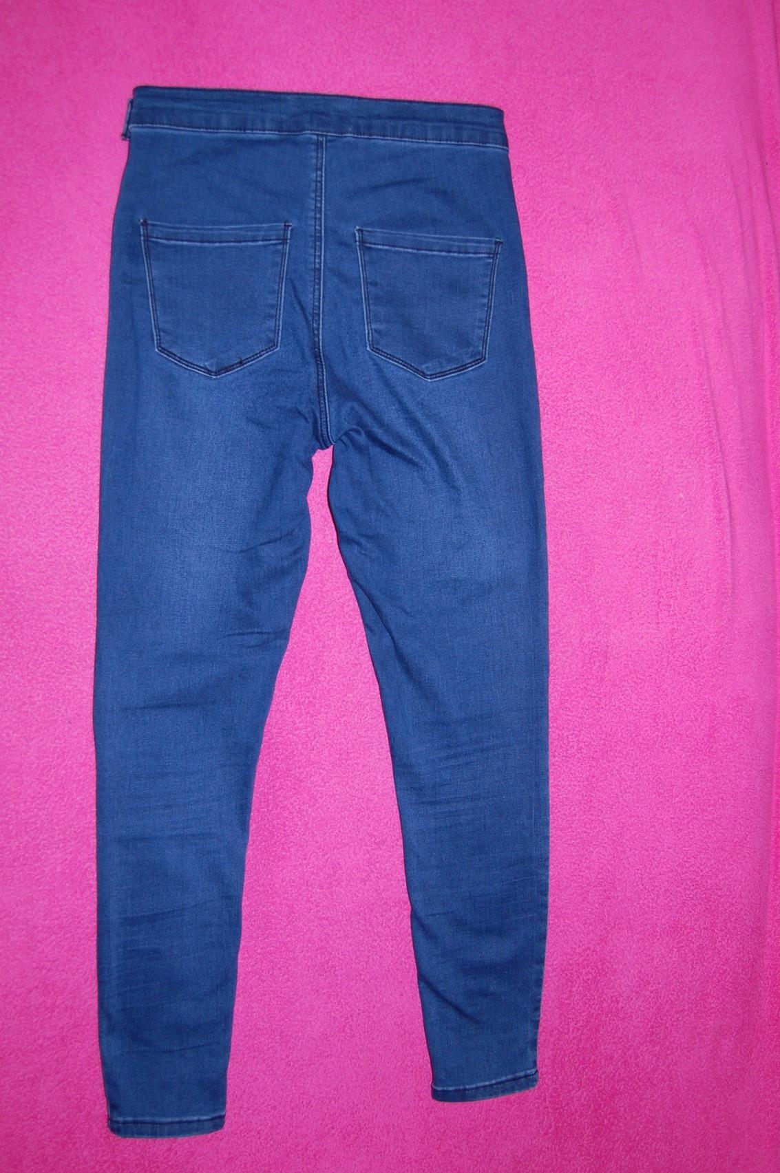 0a67e8a4bb5b Spodnie skinny rurki zamek Asos 40-42 - 7667637746 - oficjalne ...