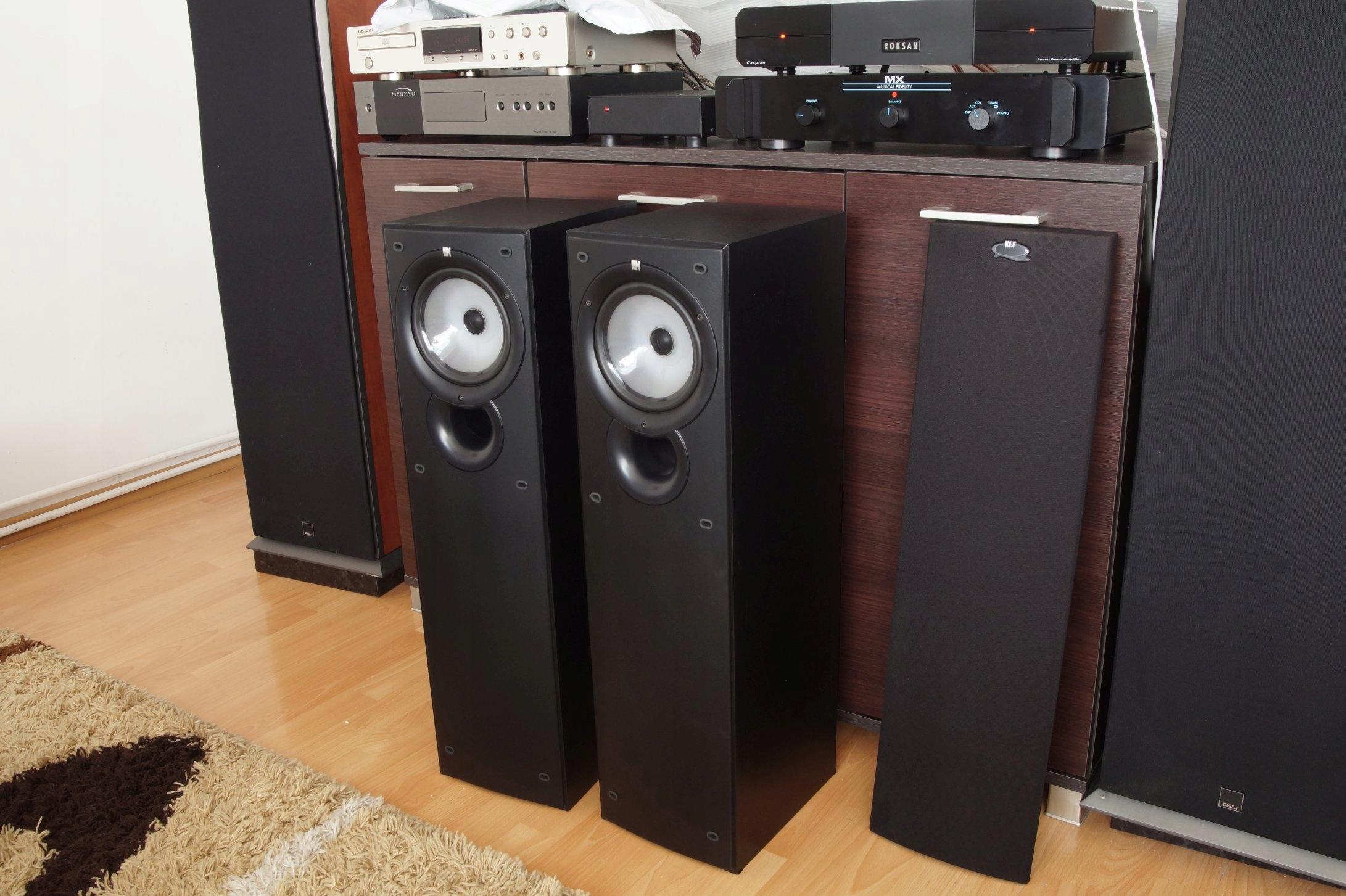 Kolumny Stereo KEF Q35 6 Ohm komis audio Myślenice