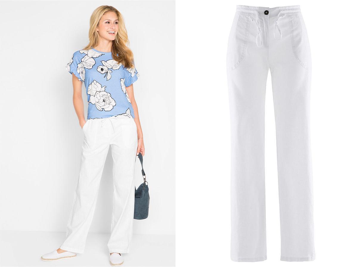 02b3cde979 białe lniane spodnie w Oficjalnym Archiwum Allegro - Strona 18 - archiwum  ofert