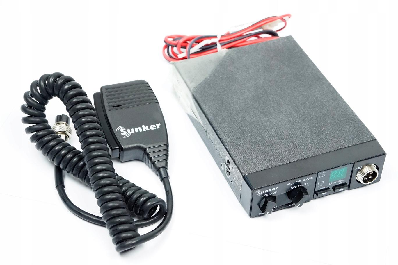 SUNKER ELITE ONE (URZ0235) Radio CB