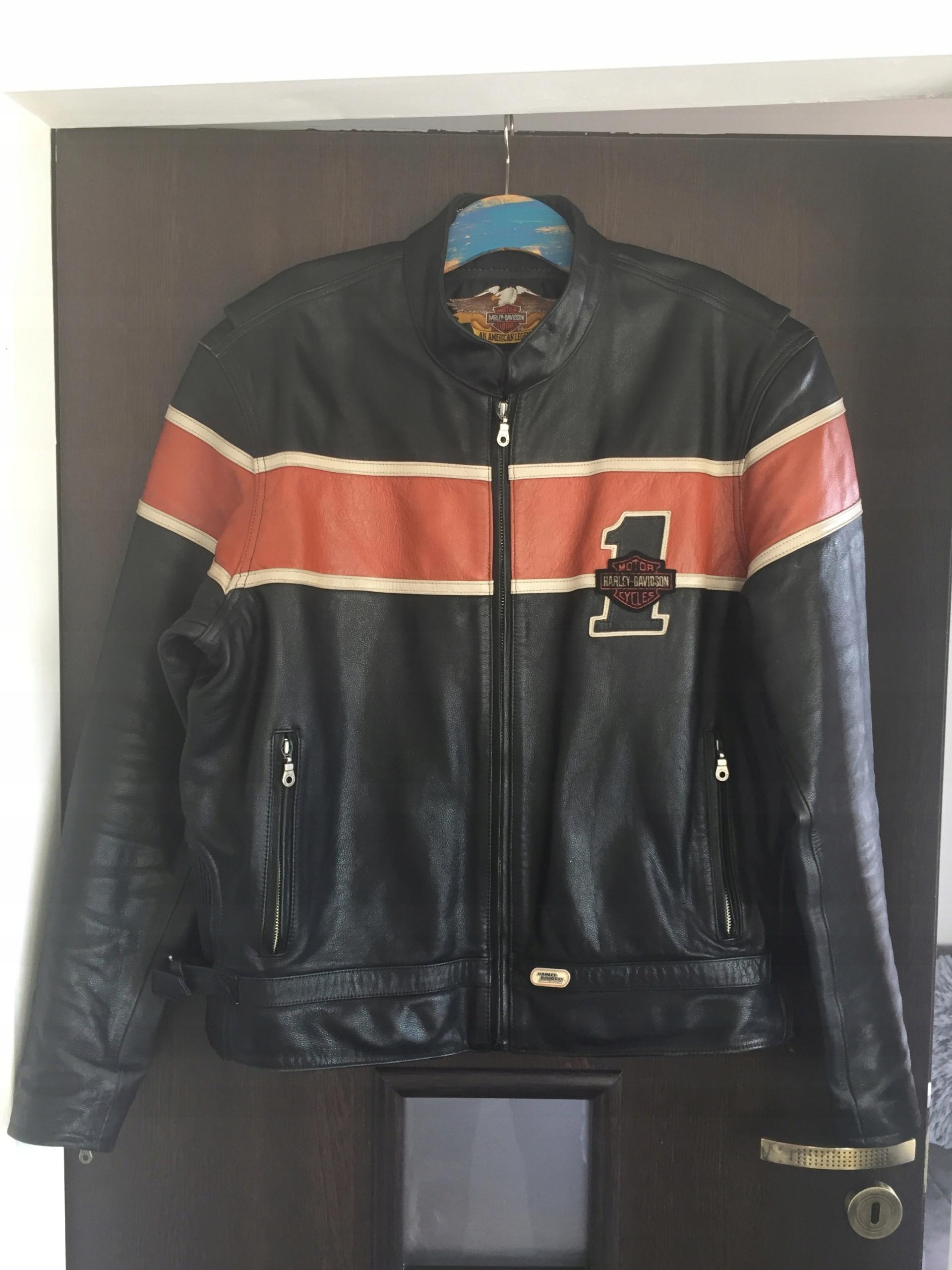 f8f07a00b2017 Kurtka skórzana Harley Davidson - 7603674474 - oficjalne archiwum ...