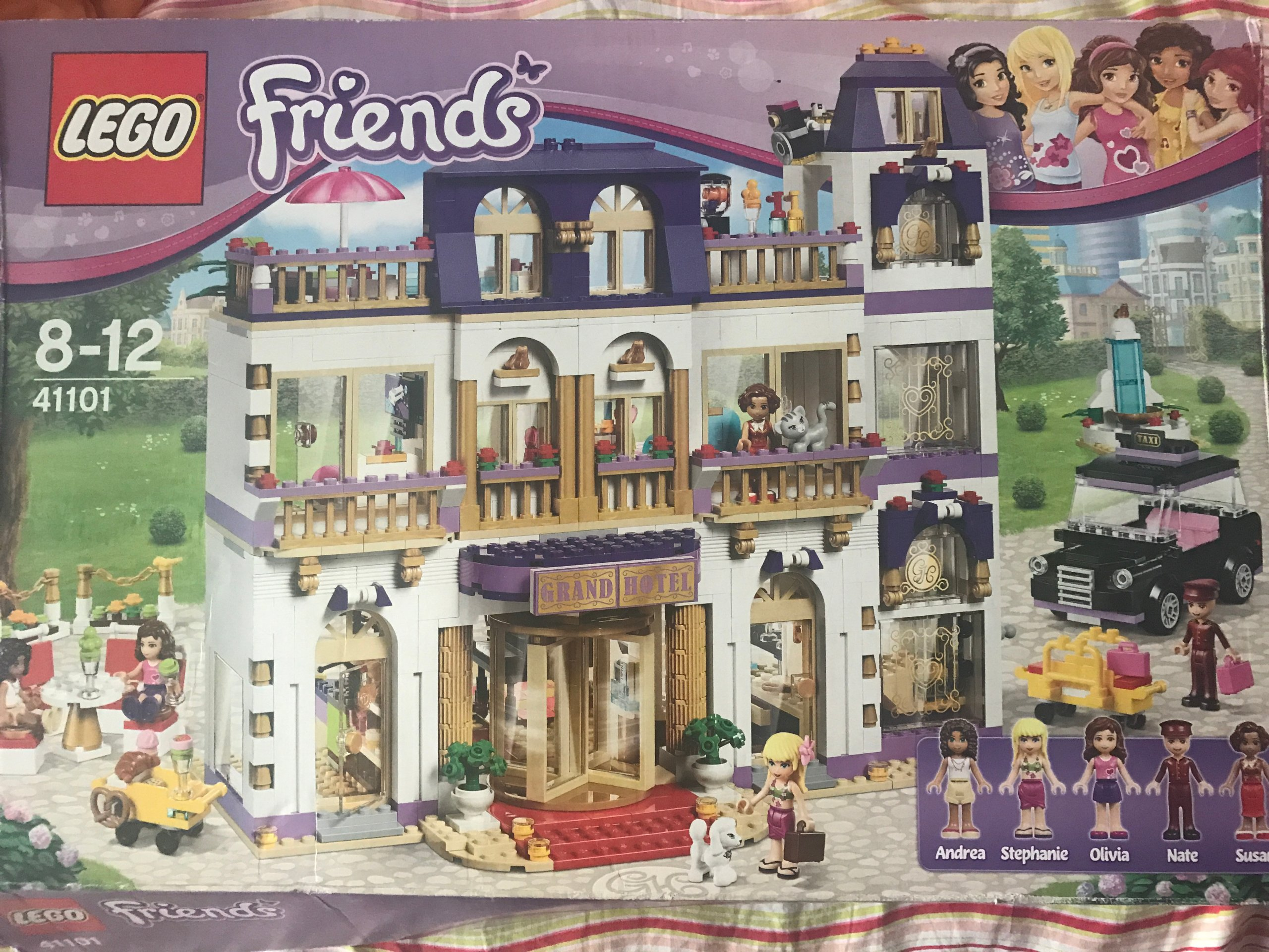 Lego Friends Grand Hotel Najtaniej 41101 7197475922