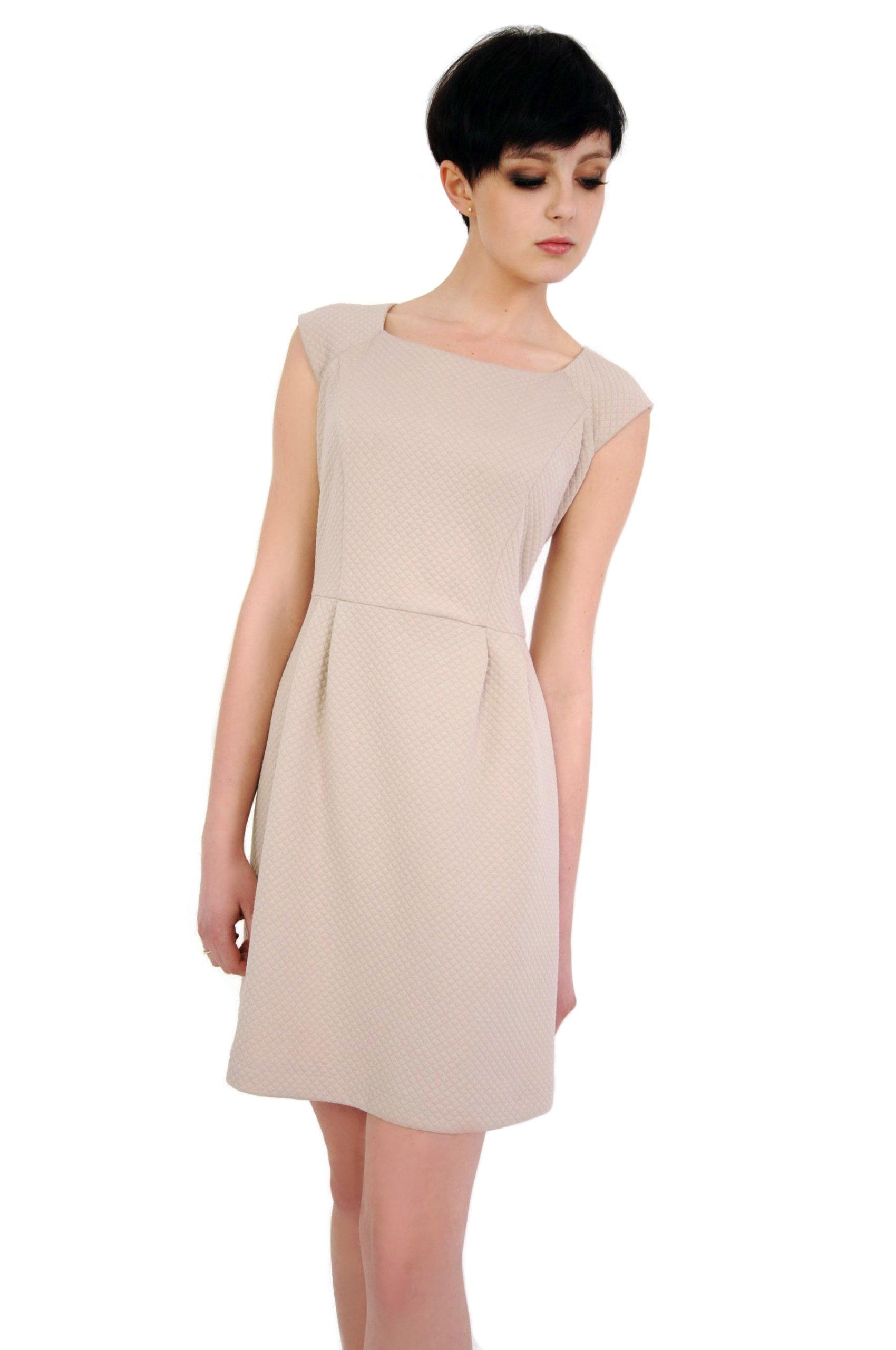 6968960851 Sukienka rozkloszowana o klasycznym kroju 42 XL - 7104159129 ...