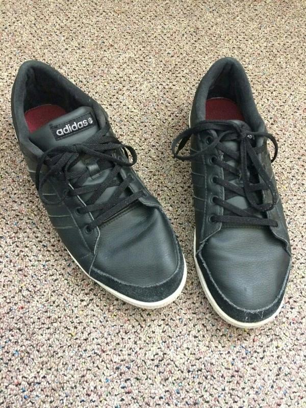 Czarne buty męskie sportowe adidasy Adidas Neo Hit