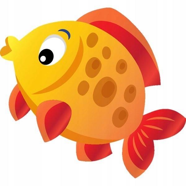 Żółto pomarańczowa rybka