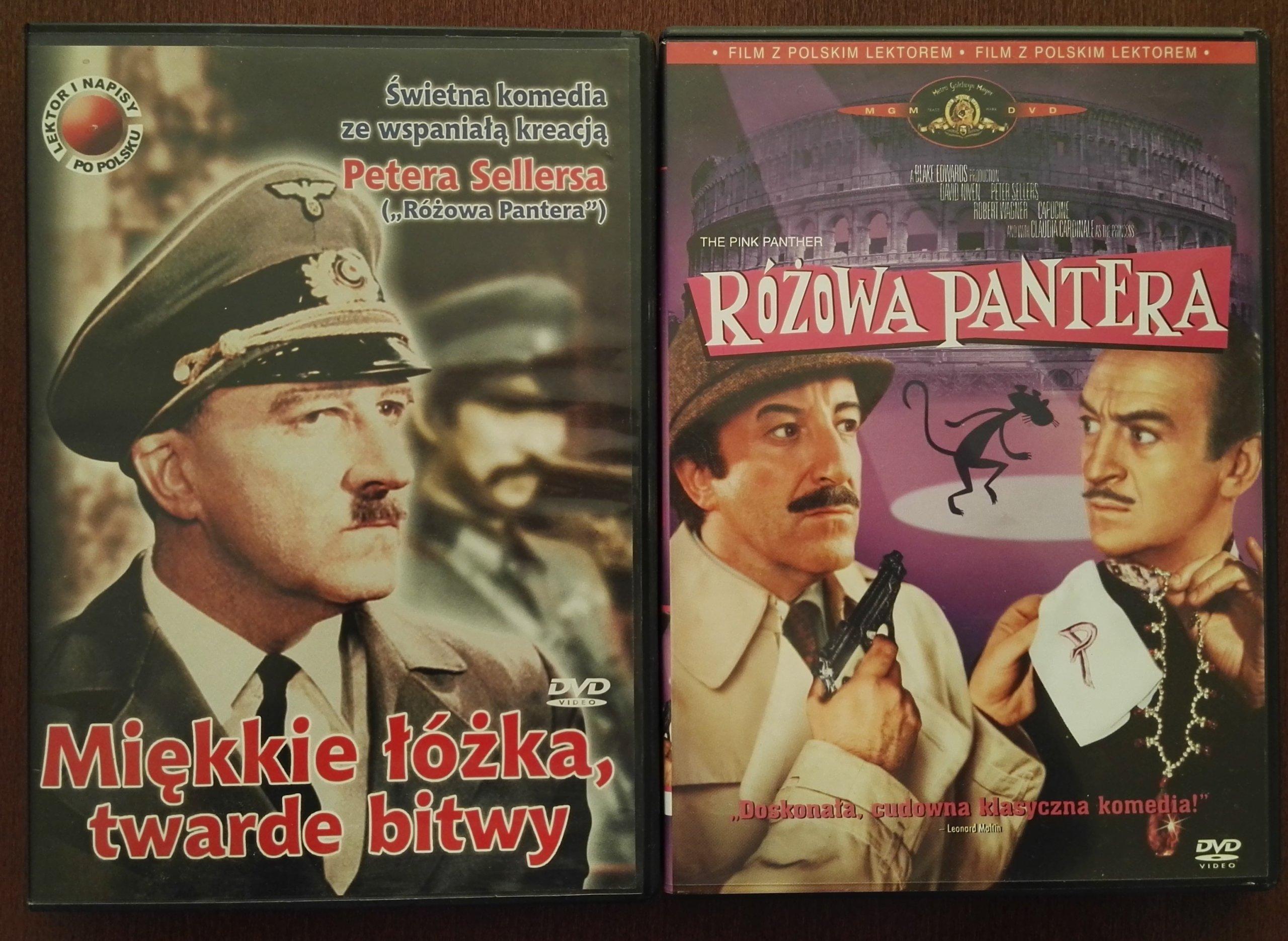 2dvd Różowa Pantera I Miękkie łóżka Twarde Bitwy