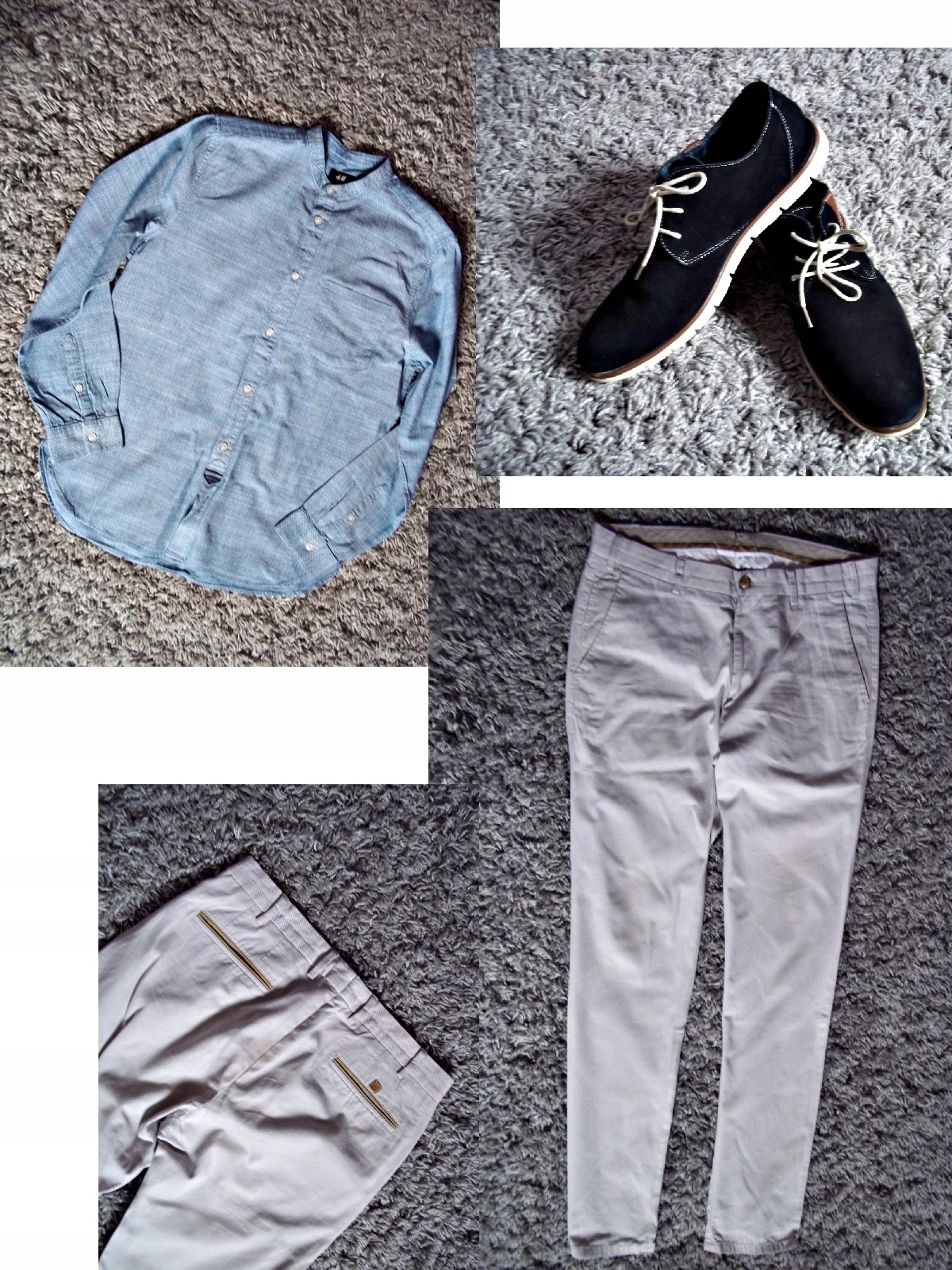 Paka ubrań M Zara Massimo Dutti Bershka H&M 21