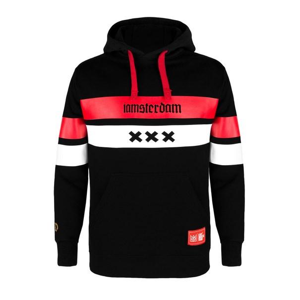 różne style świetna jakość najlepiej kochany Bluza GANJA MAFIA IAMSTERDAM XXX kaptur Black r.M ...