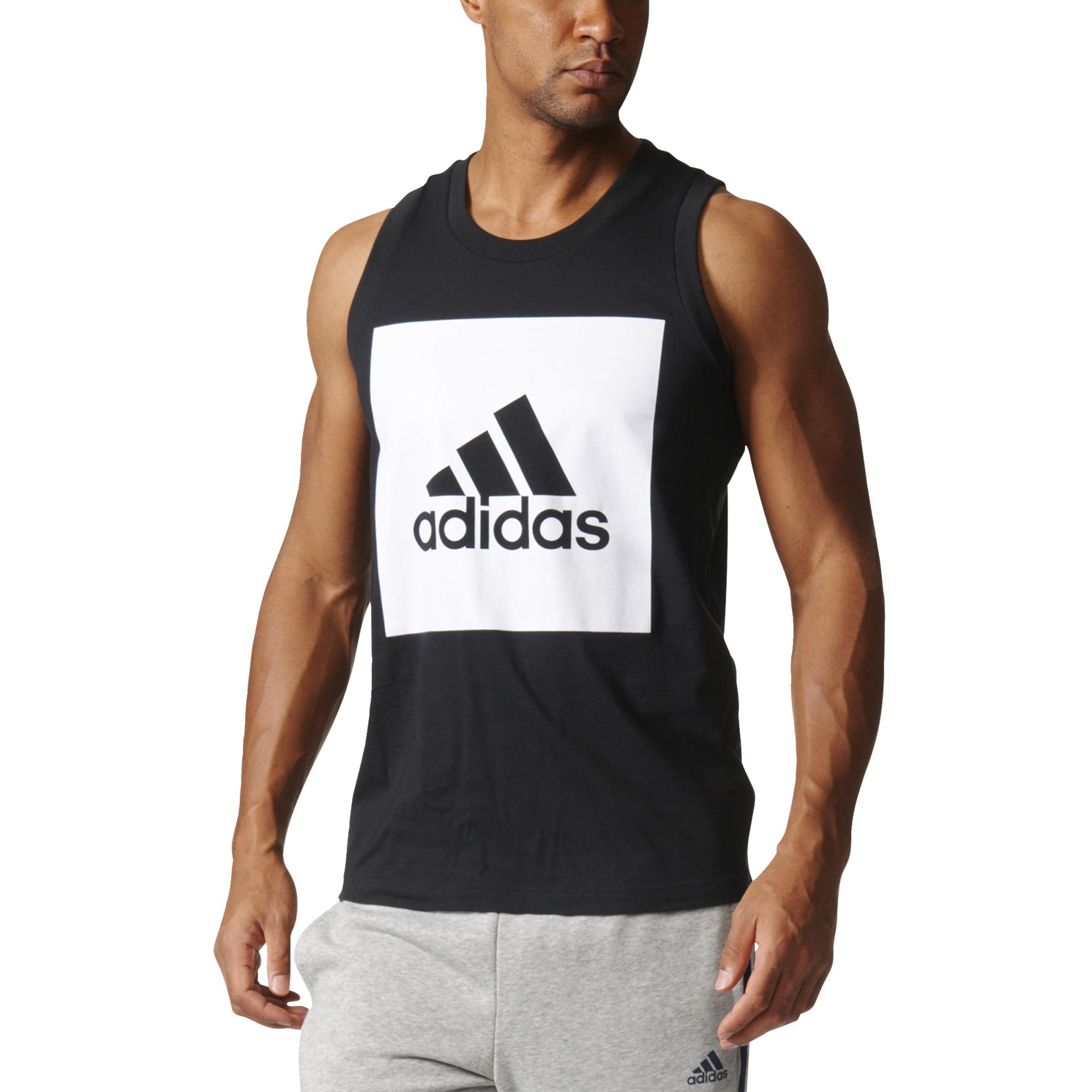 05dbe4f18 koszulka męska na ramiączkach adidas r XL B47364 - 7176966204 ...
