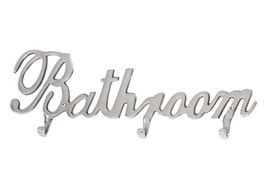 Aluminiowy wieszak dekoracyjny Bathroom 135