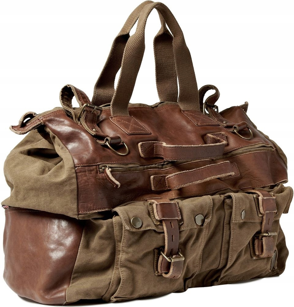 BELSTAFF MILITARY TRAVEL BAG DUŻA 650$