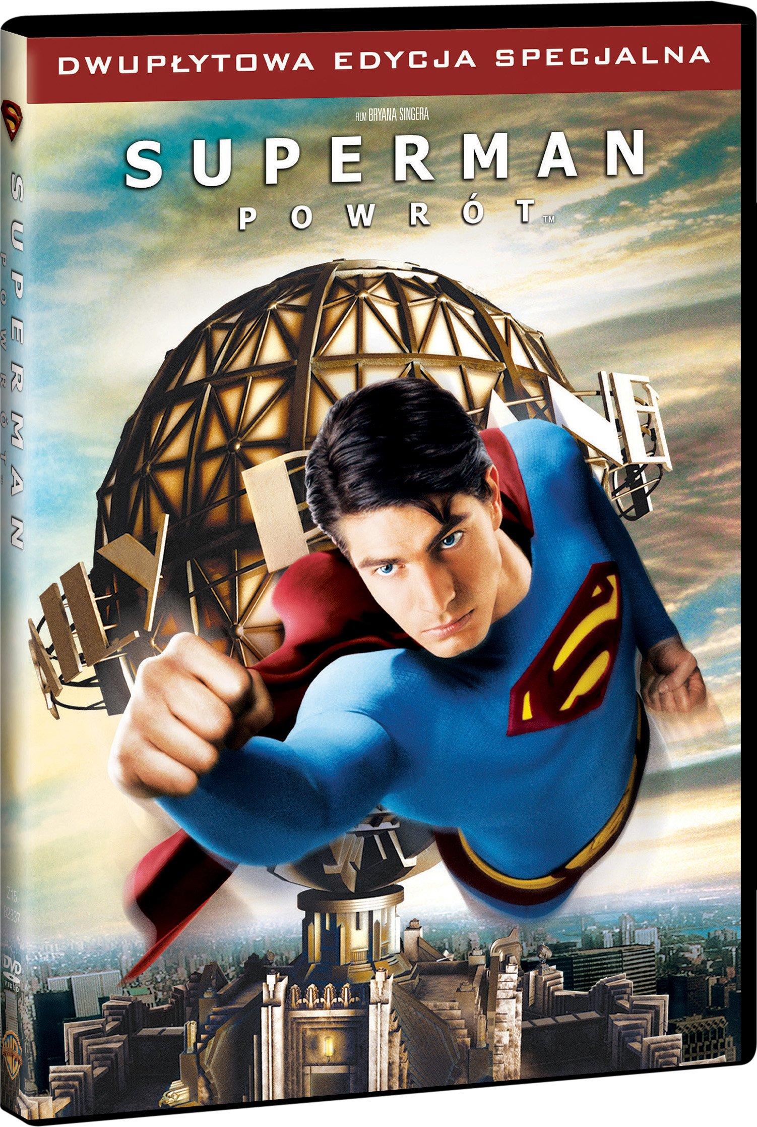 Superman: Powrót DVD