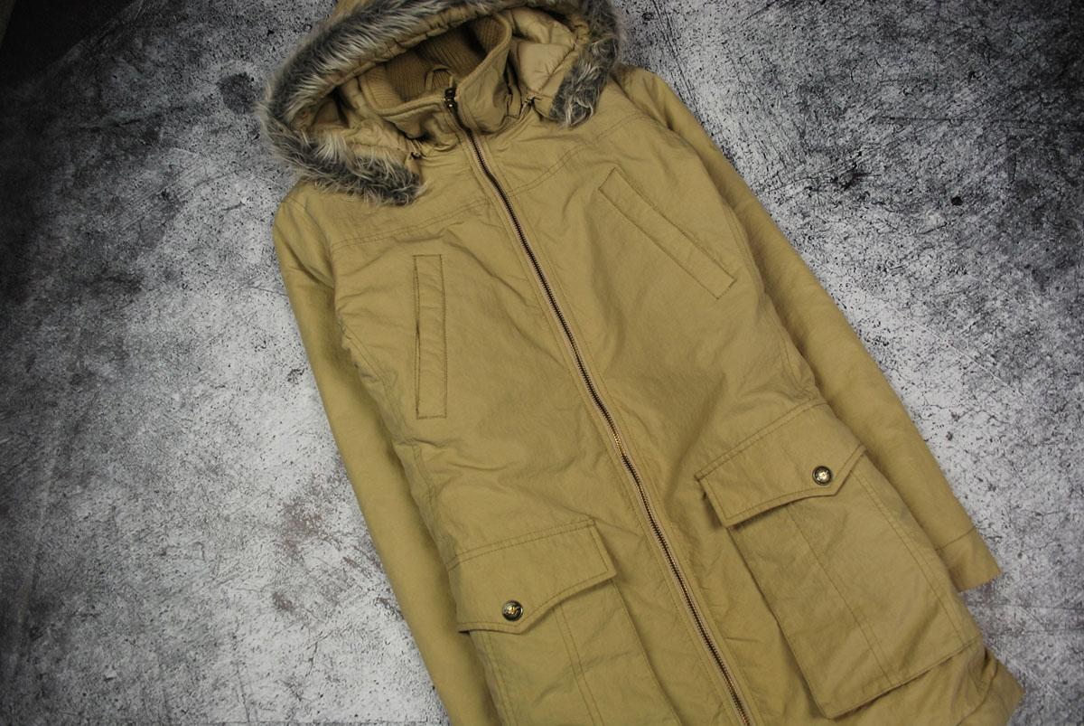 b9117ae89e032e U1066 CROCKER kurtka beżowa kaptur zima klasyk 38M - 7729625484 ...
