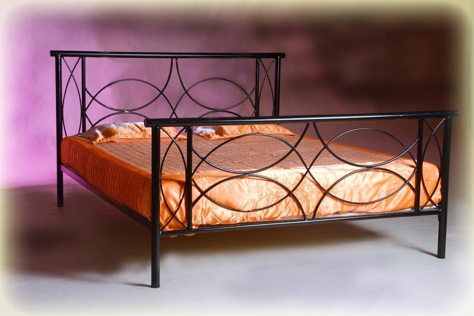 łóżko Metalowe Kute Sofia 140x200 Podwójne 7101888967