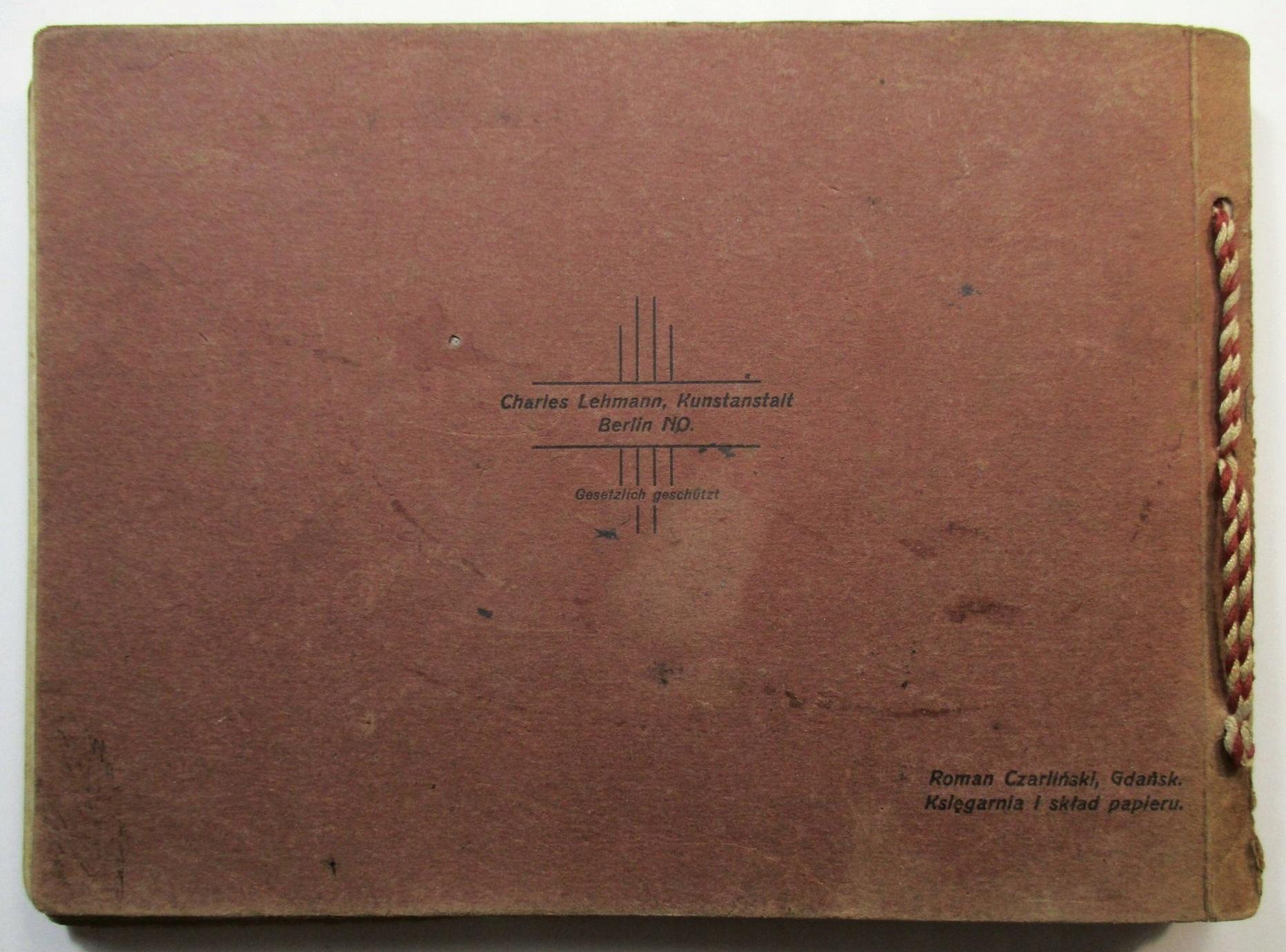 Wspaniały Album Gdańska Oliwy i Sopot, JĘZYK POLSKI, 1908 - 7432457541 LQ09