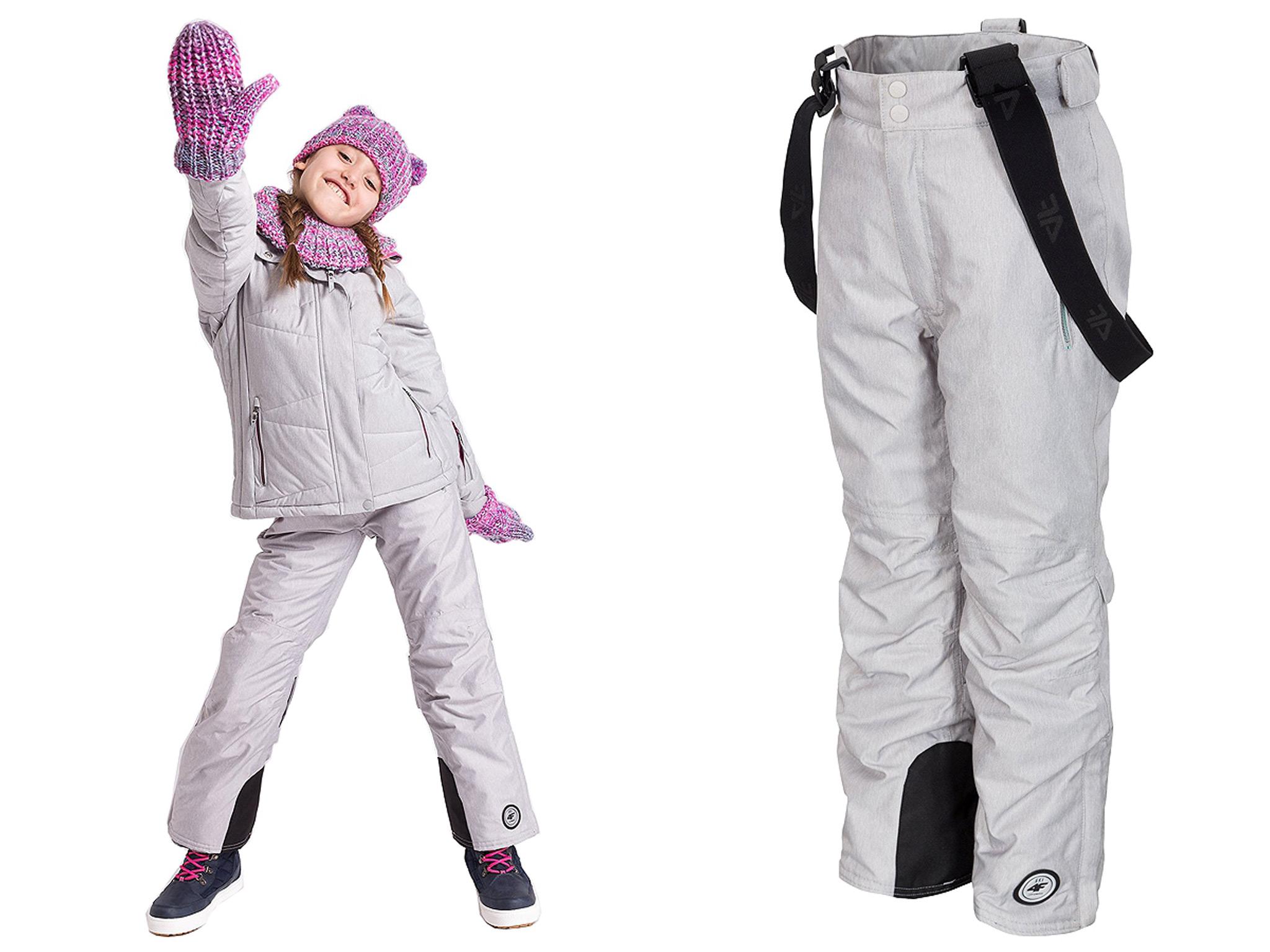 84f59e9613 4F Spodnie narciarskie dla dzieci JSPDN401 -134cm - 7118365547 ...