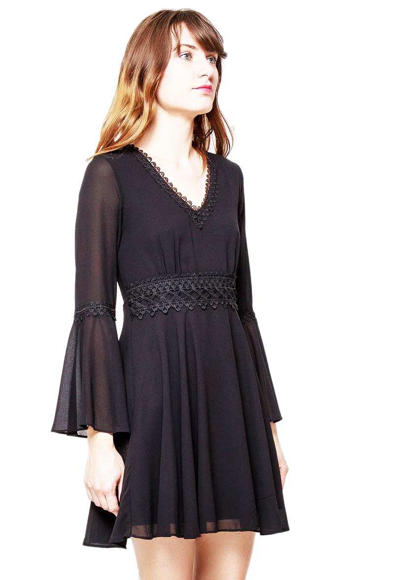 f9a310786f498d NOWA LILY MCBEE włoska czarna sukienka M - 7268708202 - oficjalne ...