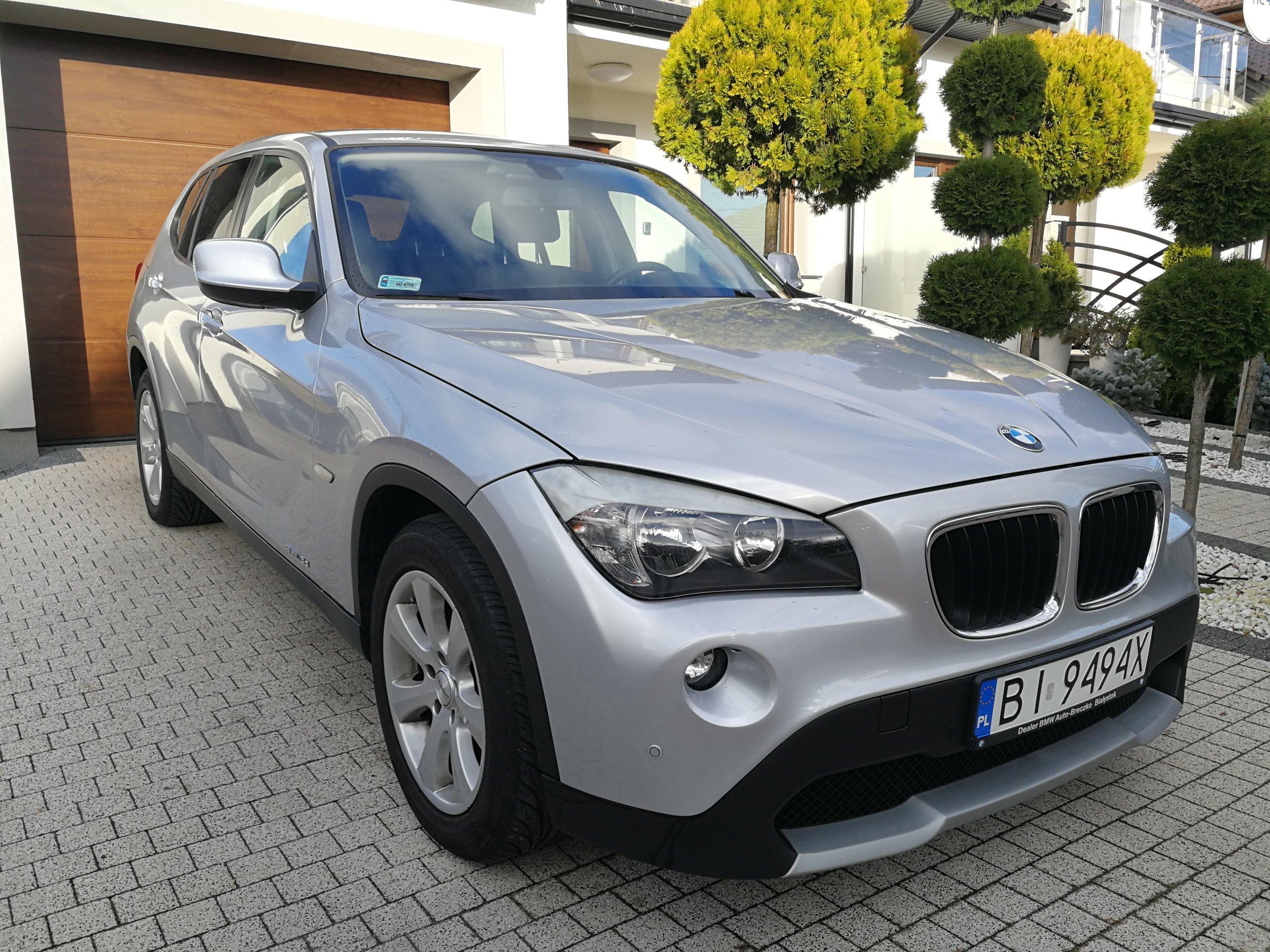 BMW X1 2 0d 143KM PIĘKNY SUV Z POLSKIEGO SALONU