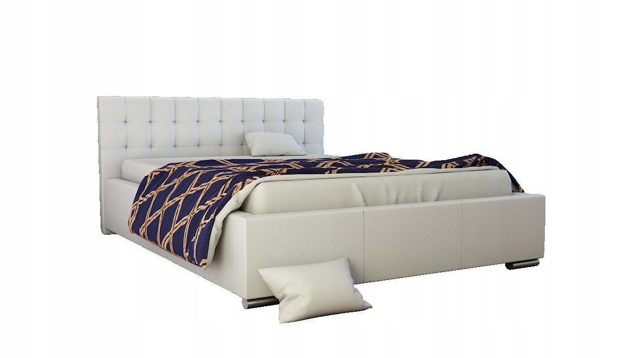 łóżko Tapicerowane Wenecja 140x200 Stelażpojemnik 7035478453