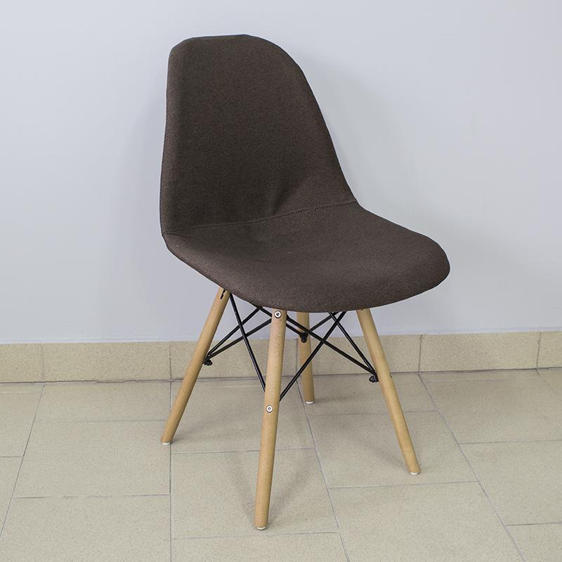 Outlet Krzesło Fotel Tapicerowane Do Salonu Brązow 7264317507