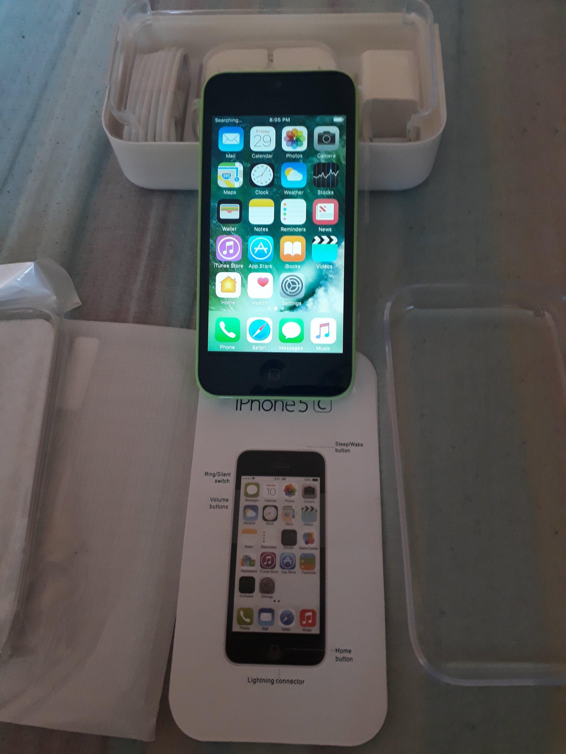 Odnowiony Iphone 5c 8gb Wyglda Jak Nowy Wada 7135365170