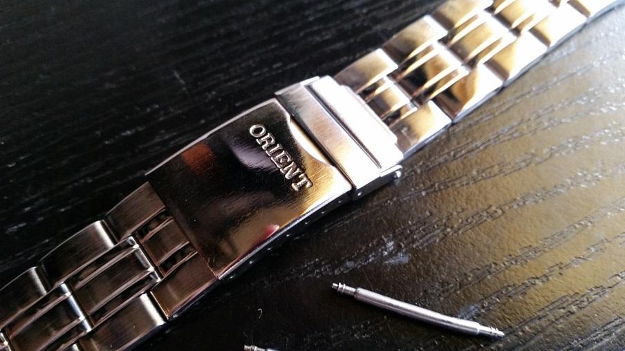 31f5097bdf8659 ORIENT - BRANSOLETA DO ZEGARKA - ORYGINAŁ 20mm - 7211047082 ...