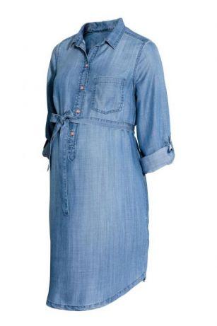 8676d0e8c5 Sukienka Dżinsowa Hm Mama Jeans Ciążowa M 7235472512 Oficjalne