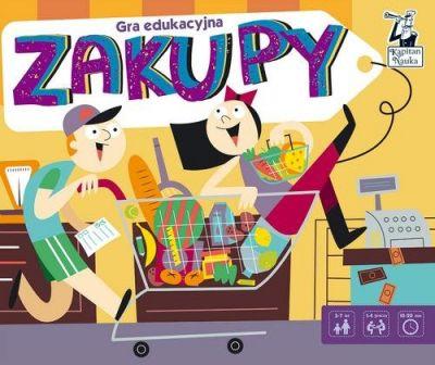 c1c5d52d78342c Kapitan Nauka Gra edukacyjna Zakupy - 7243332884 - oficjalne ...