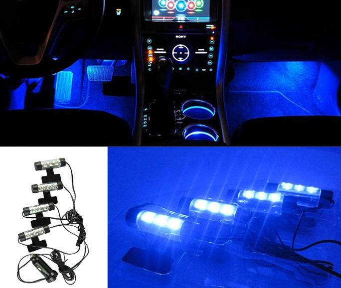 Podświetlenie Oświetlenie Wnętrza Samochodu Led 7167582204