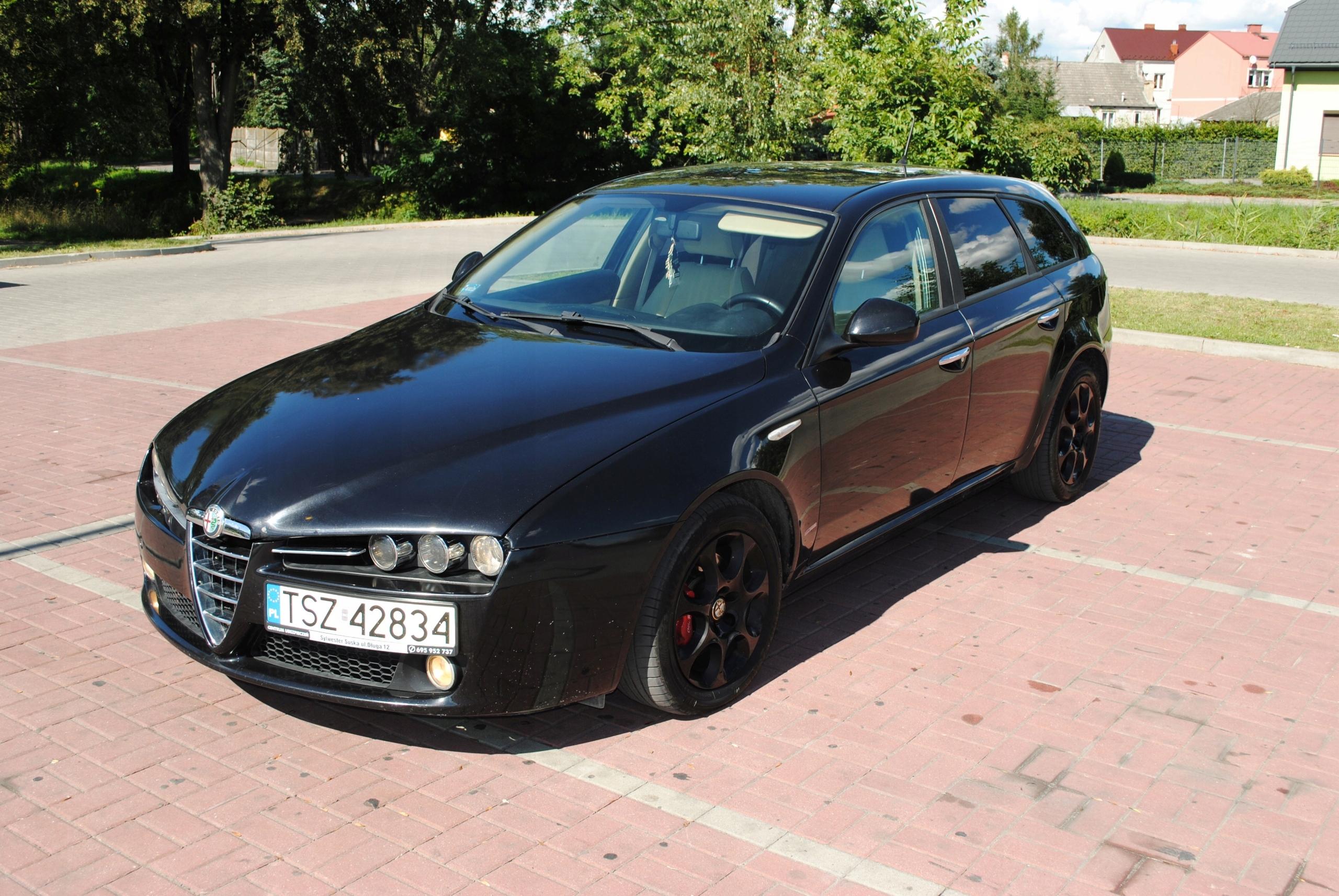 Alfa Romeo 159 1 9 JTDM Sport Wagon oficjalne