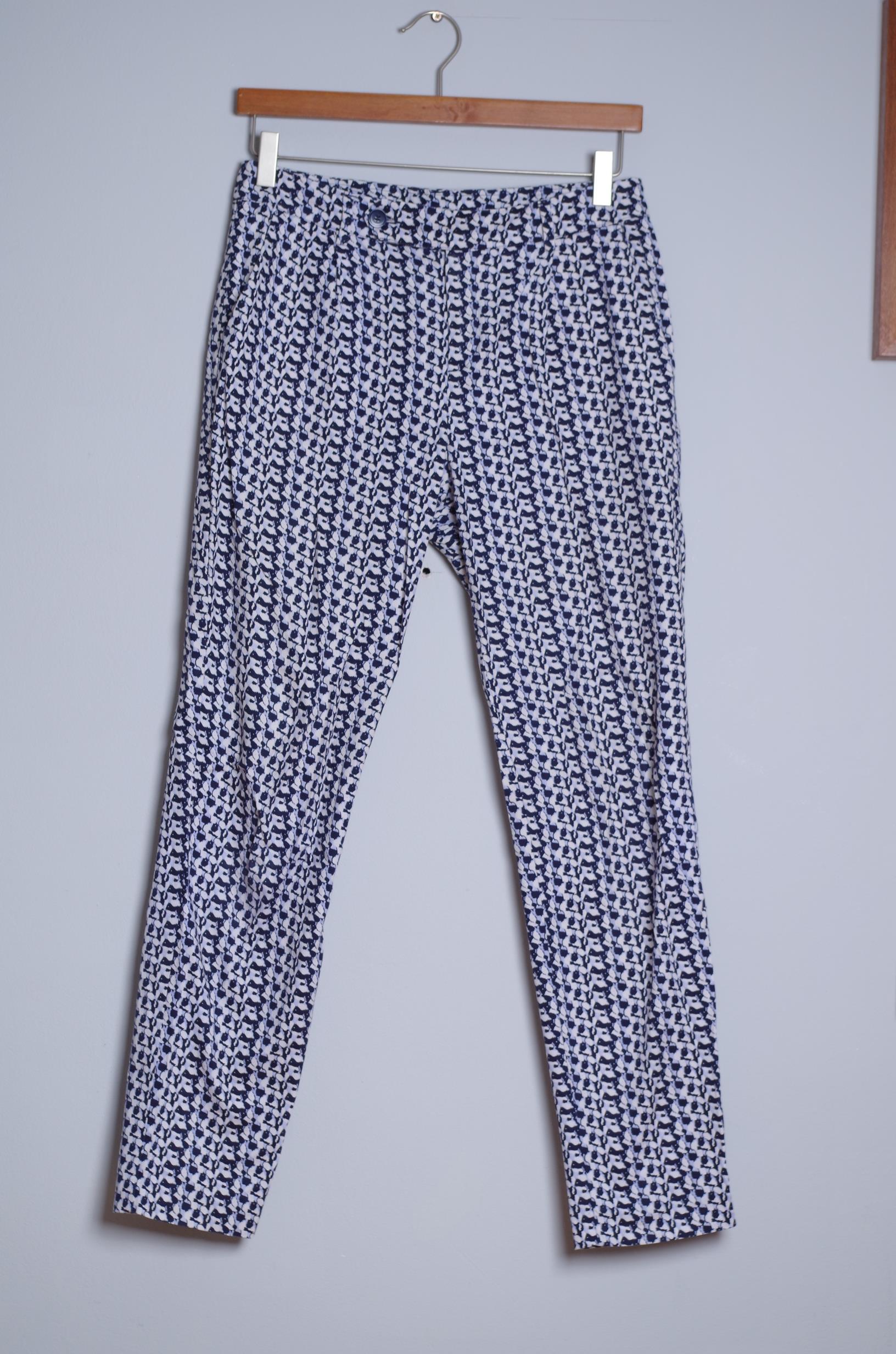 Spodnie BENETTON r. 36 kolorowe