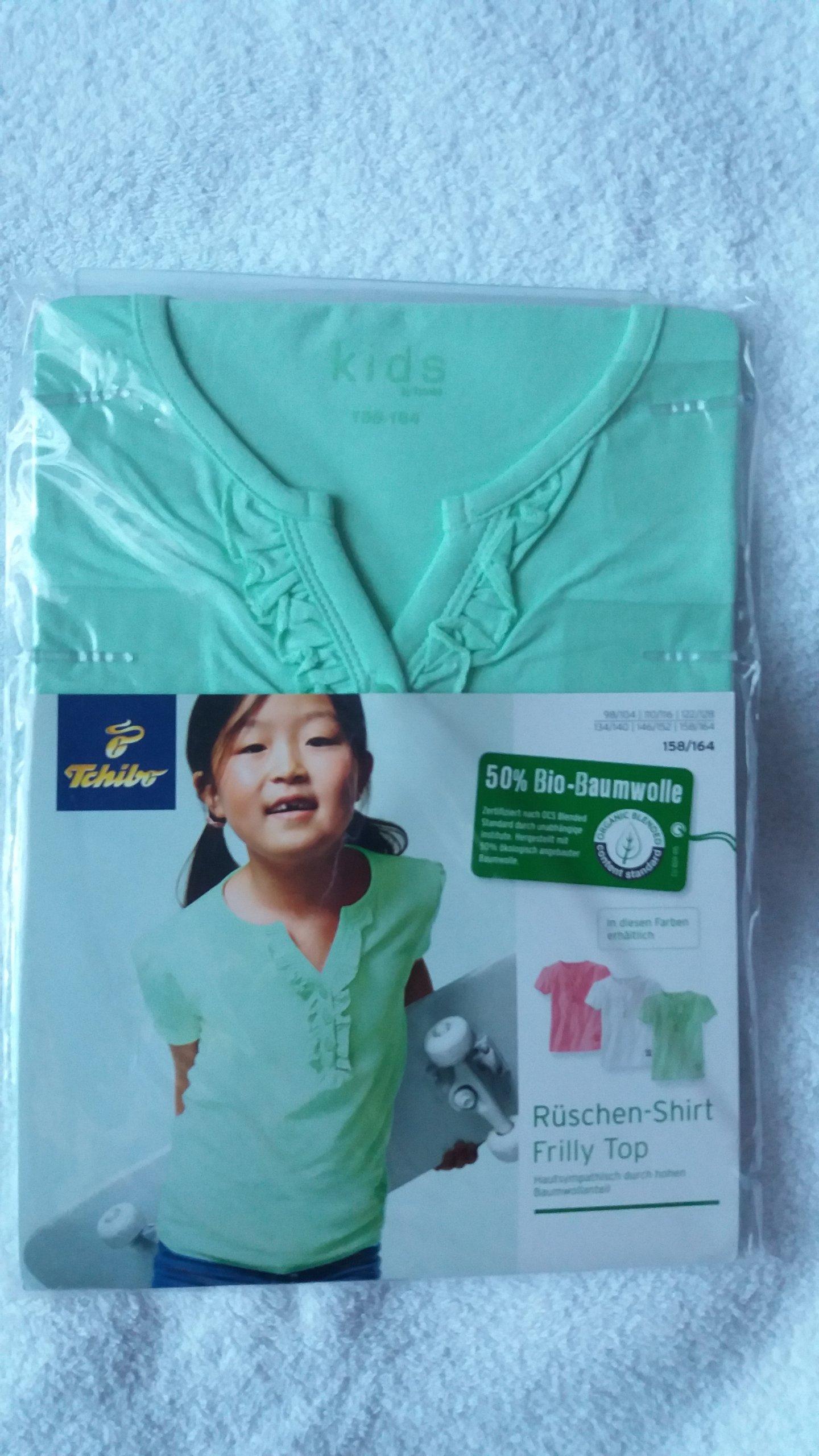 1342726313d6ad TCHIBO Bluzka koszulka pistacjowa rozmiar 158/164 - 7374222019 ...