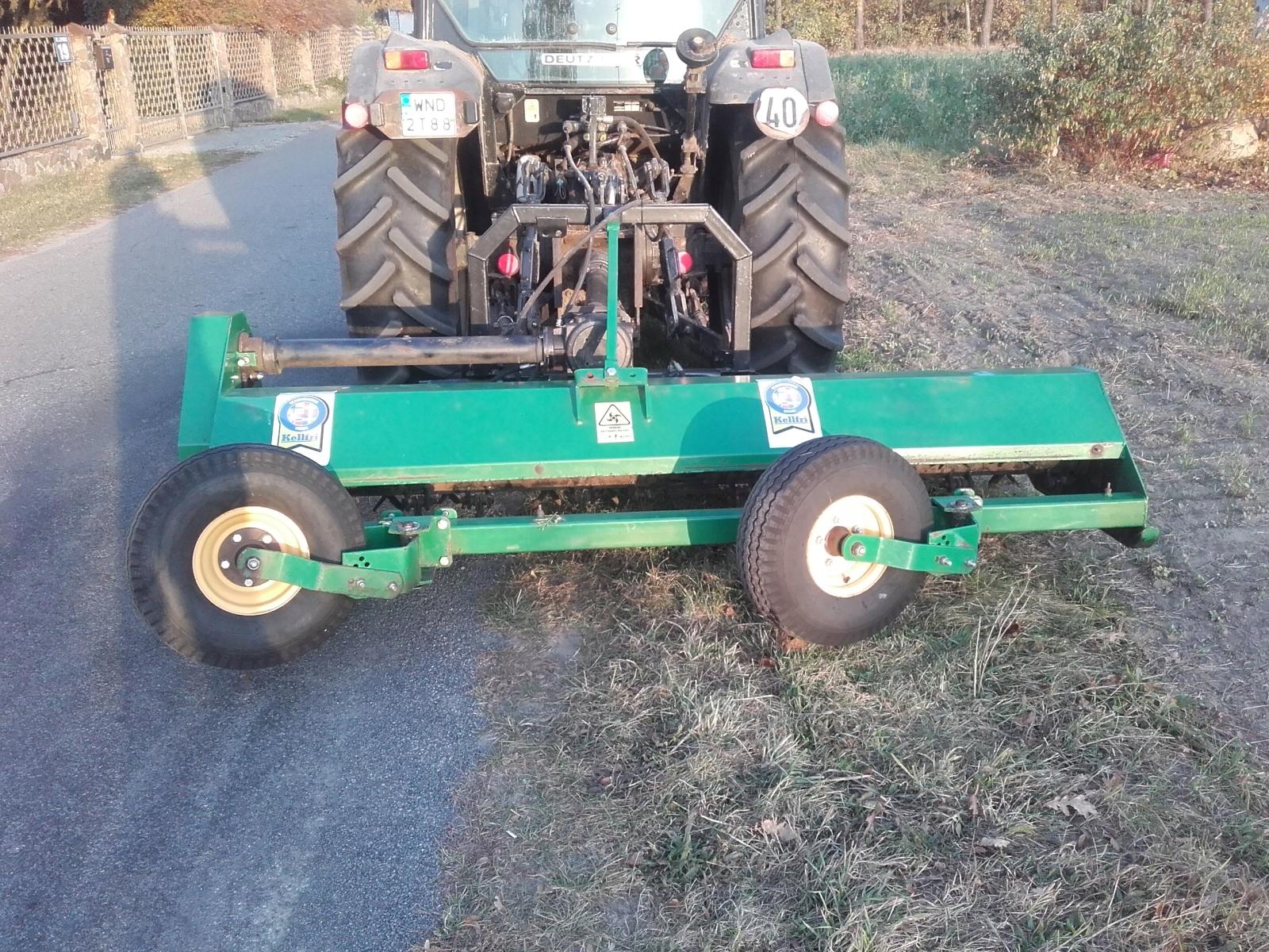 Wykaszanie koszenie działek łąk nieużytków mulczer