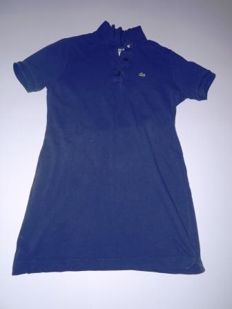 8c1214b351 Lacoste tunika sukienka koszulka - 7279283718 - oficjalne archiwum ...