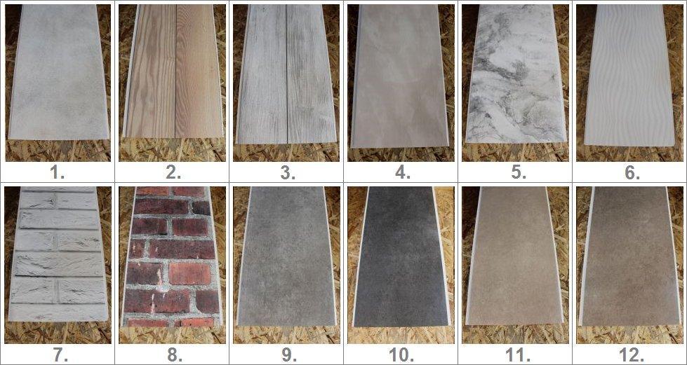 Panel Panele Scienne Pcv Boazeria 25cm Cala Polska 7195449310