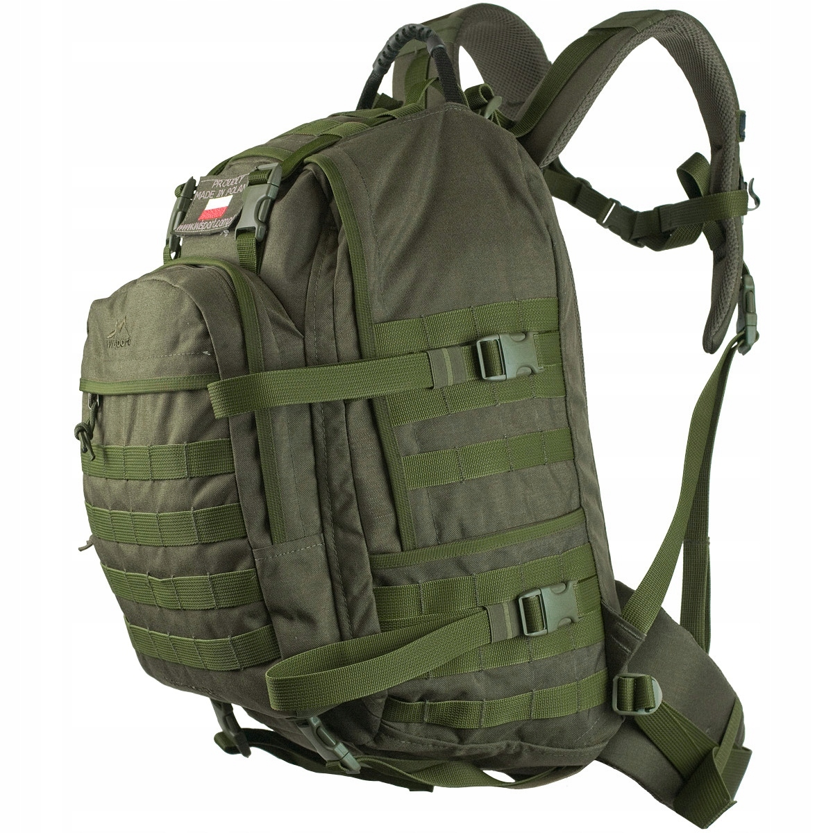 a55600e16b130 Plecak Wisport Whistler 35L Ral-7013 gen.I - 7466273195 - oficjalne ...