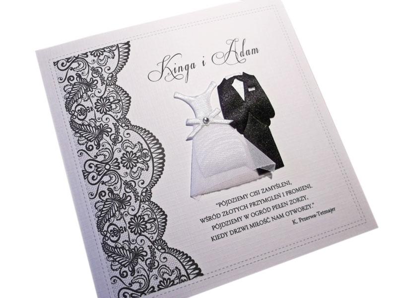 Zaproszenia Na ślub Wesele ślubne Zawiadomienia 7180477106