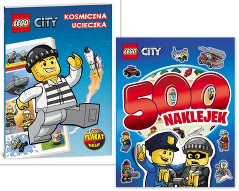 Lego City Kosmos Ucieczka Naklejki Kolorowanki Lot 6251693641