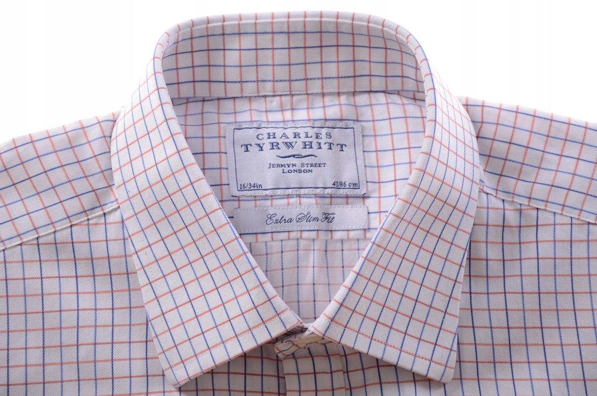 4fd493188b875 CHARLES TYRWHITT koszula na spinki EXTRA SLM k 41 - 7410796409 ...
