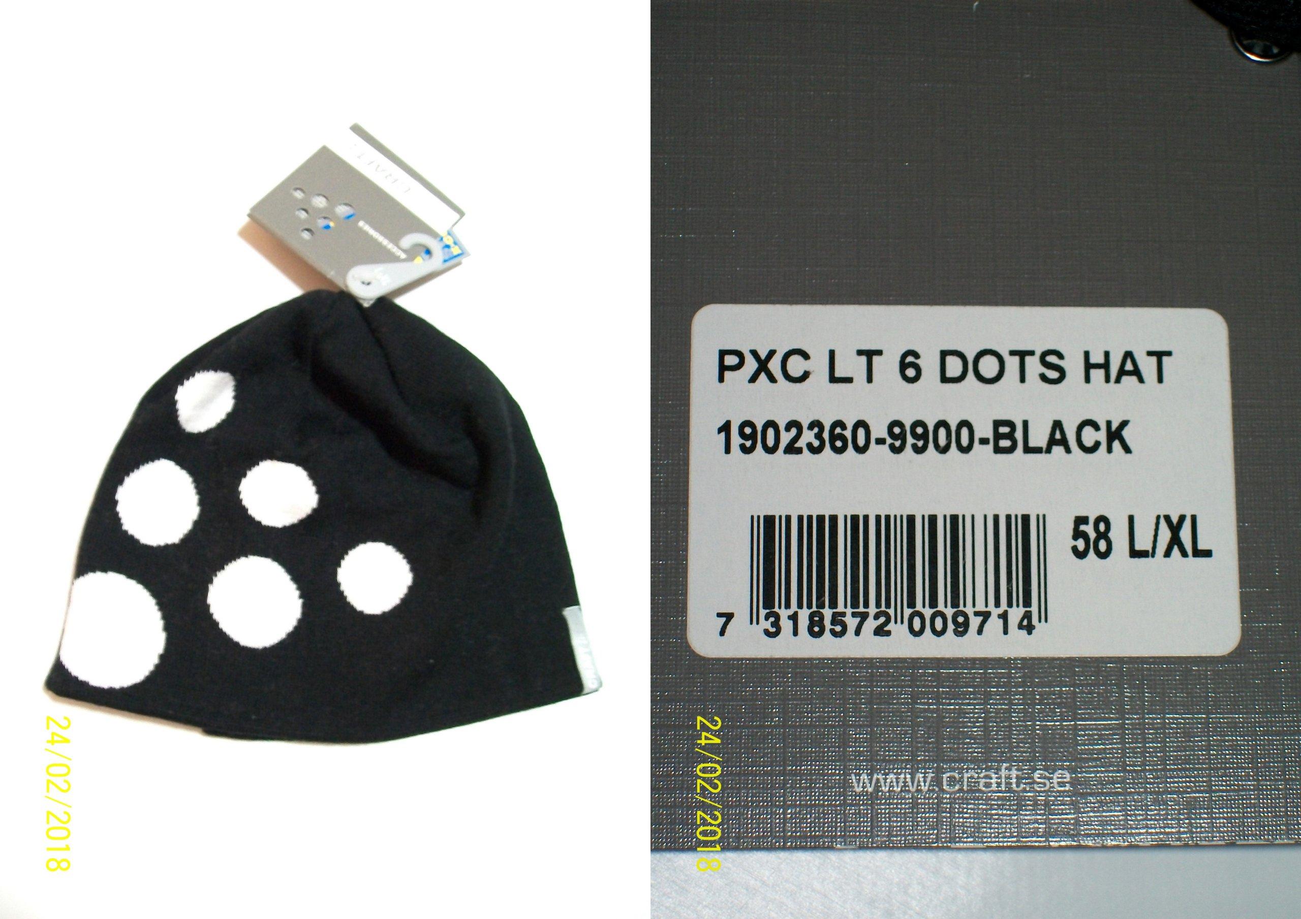 Craft Big Logo PXC LT 6 Dots Hat Czapka NOWA LXL