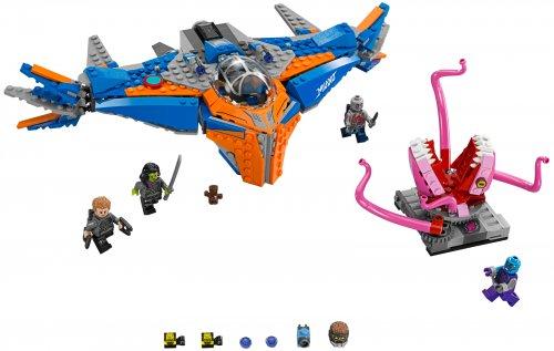 KLOCKI LEGO Super Heroes 76081 Milano kontra Abili